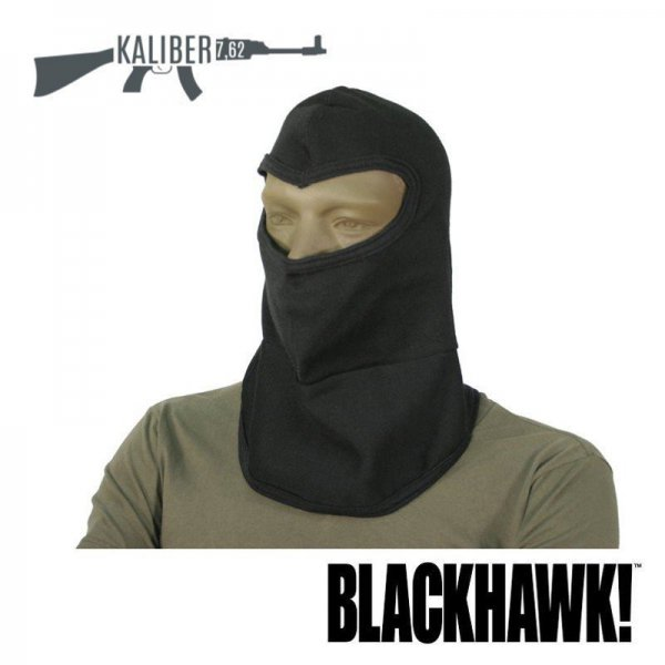 Kominiarka Blackhawk Bibbed Balaclava with Nomex  czarna 2