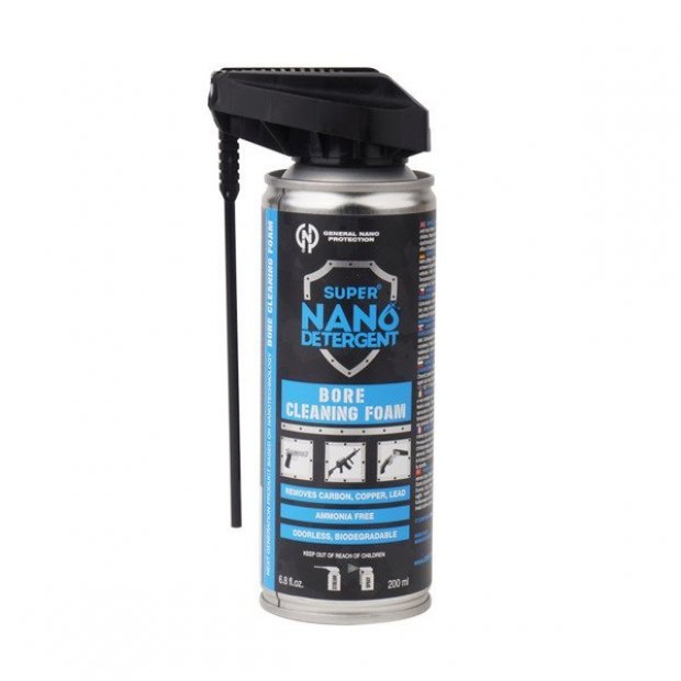 Pianka do czyszczenia lufy Super Nano Detergent Bore Cleaning Foam General Nano Protection