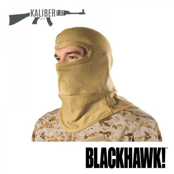 Kominiarka Blackhawk Bibbed Balaclava with Nomex  Coyote 2