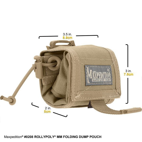 Maxpedition Rollypoly Dump Pouch khaki 3