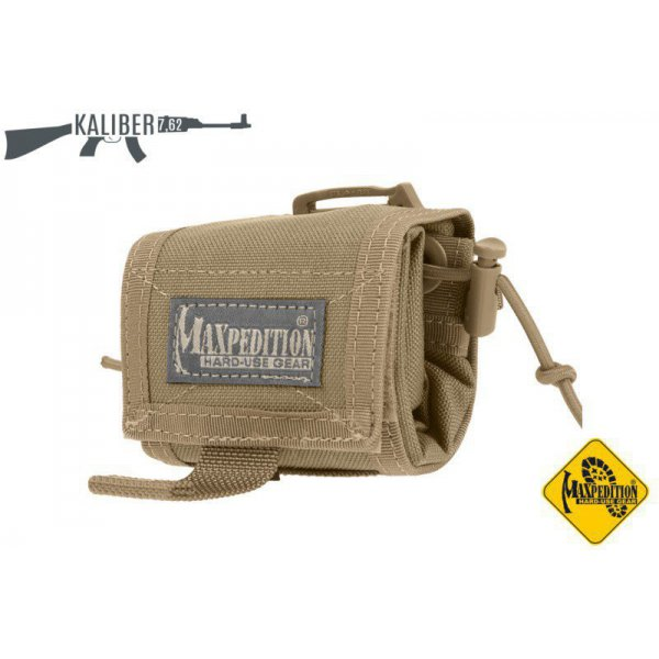 Maxpedition Rollypoly Dump Pouch khaki 2