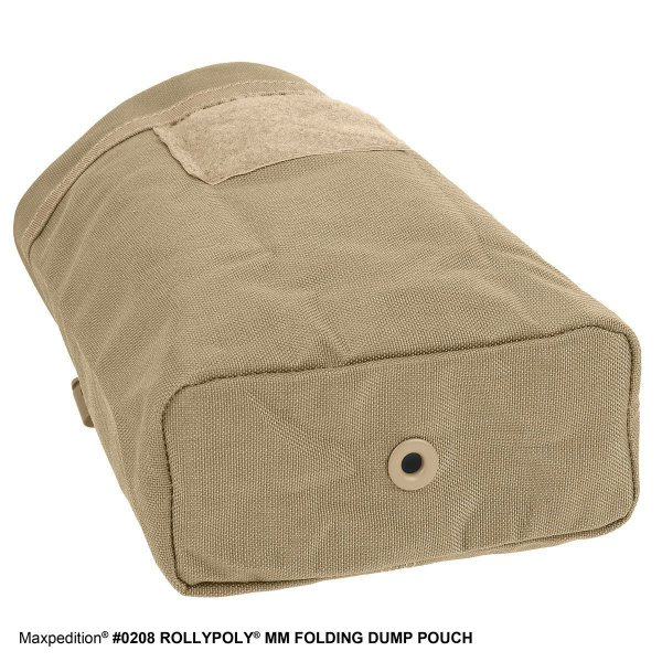 Maxpedition Rollypoly Dump Pouch khaki 6
