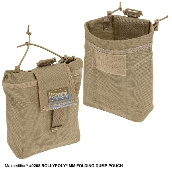 Maxpedition Rollypoly Dump Pouch khaki 5