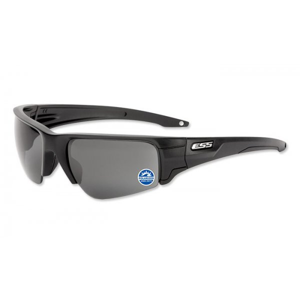 Okulary balistyczne ESS - Crowbar Polarized Mirrored Gray Lenses