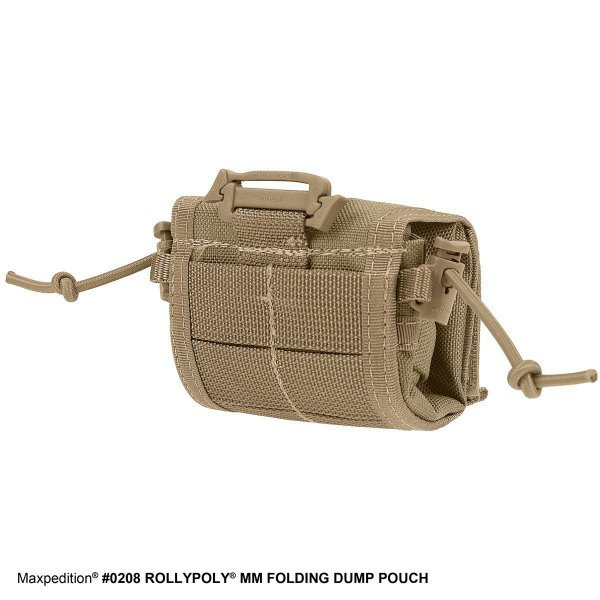 Maxpedition Rollypoly Dump Pouch khaki 4