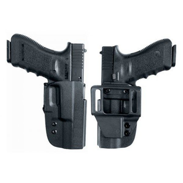Kabura Uncle Mike's Kydex Paddle Holster Glock 17, 19 4