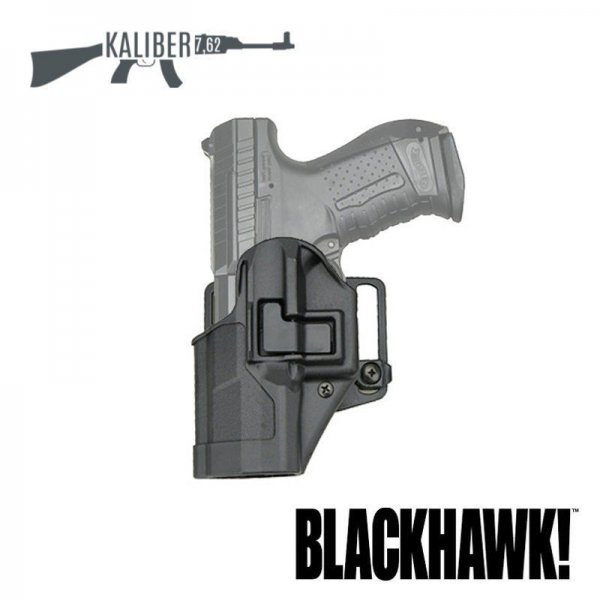 Kabura Blackhawk Serpa Matte Finish P99 lewa 2